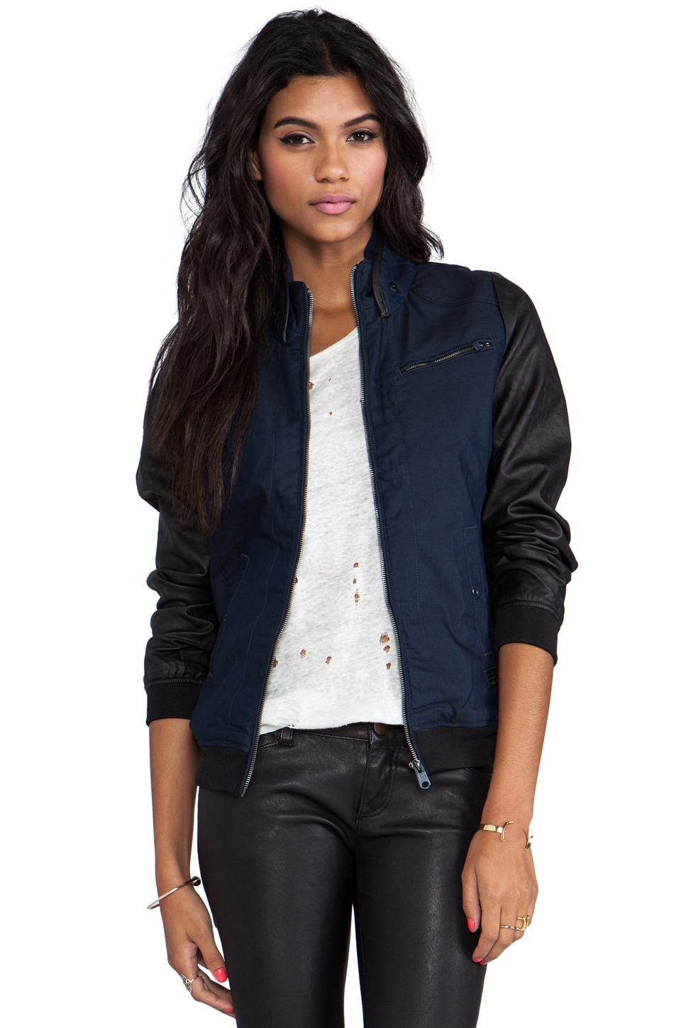 G-Star Raw Bomber Jacket in Raw
