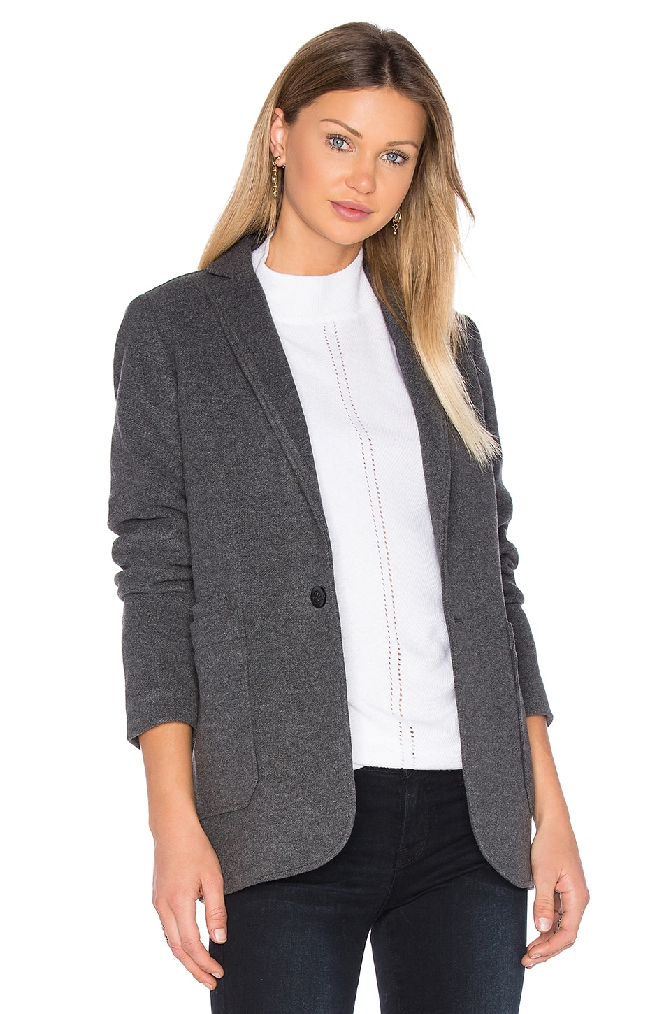 G-Star Blake Wool Blazer in Carbid Heather
