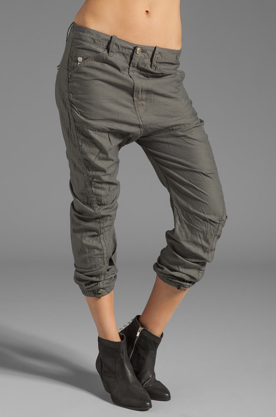 G-Star Trooper X-Loose Tapered Pant in Sage