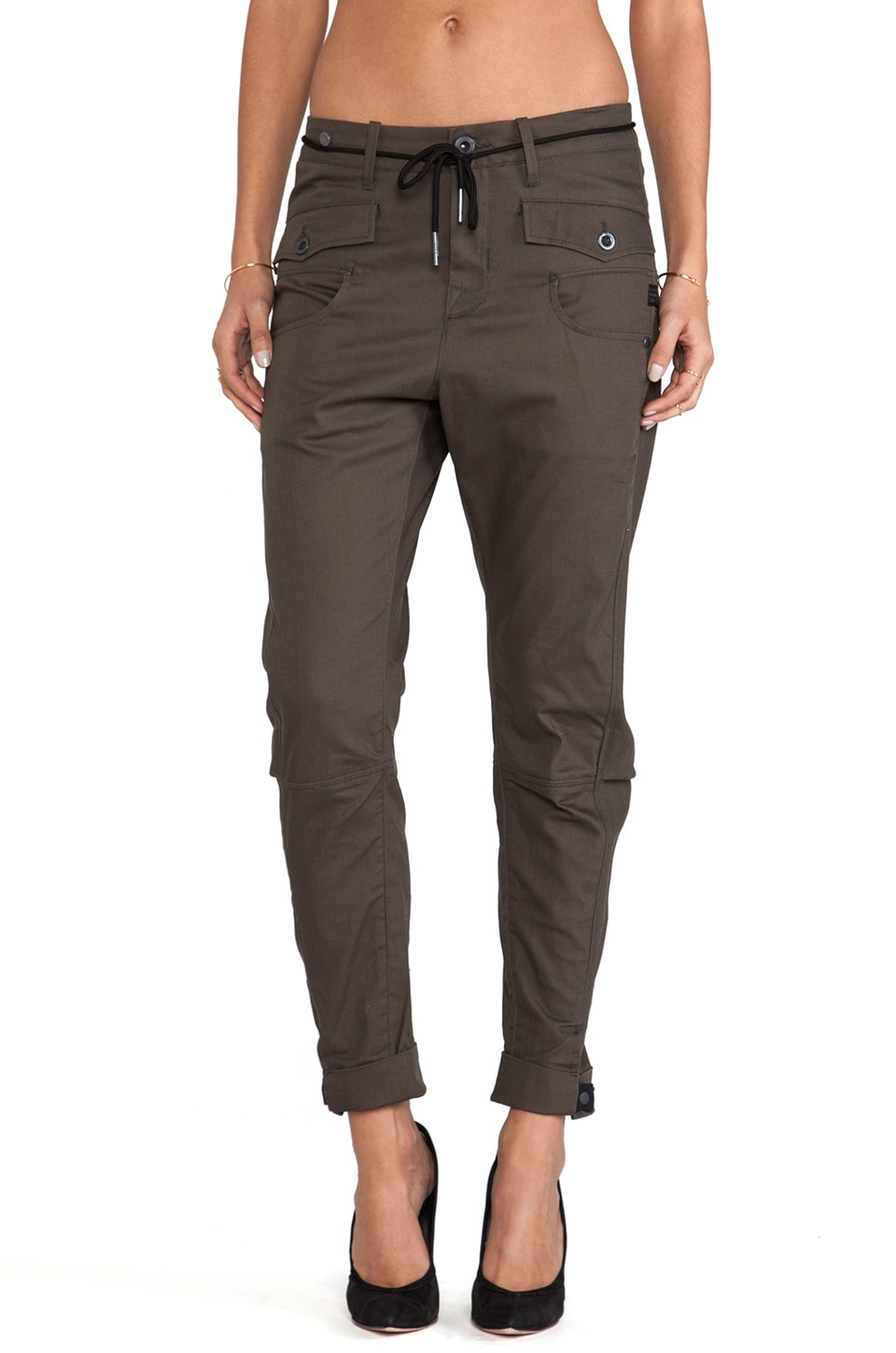 G-Star Army Radar Losse Tapered Pant in Gun Metal