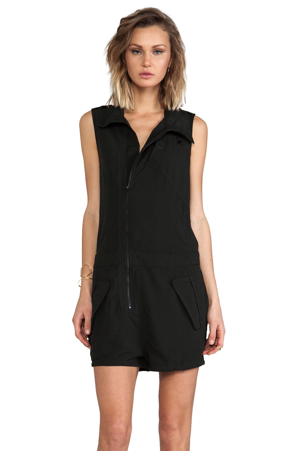 G-Star Avi Short Suit Romper in Barbour
