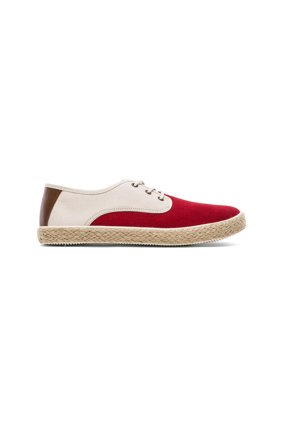 Generic Surplus Wino in Red & Natural Twill