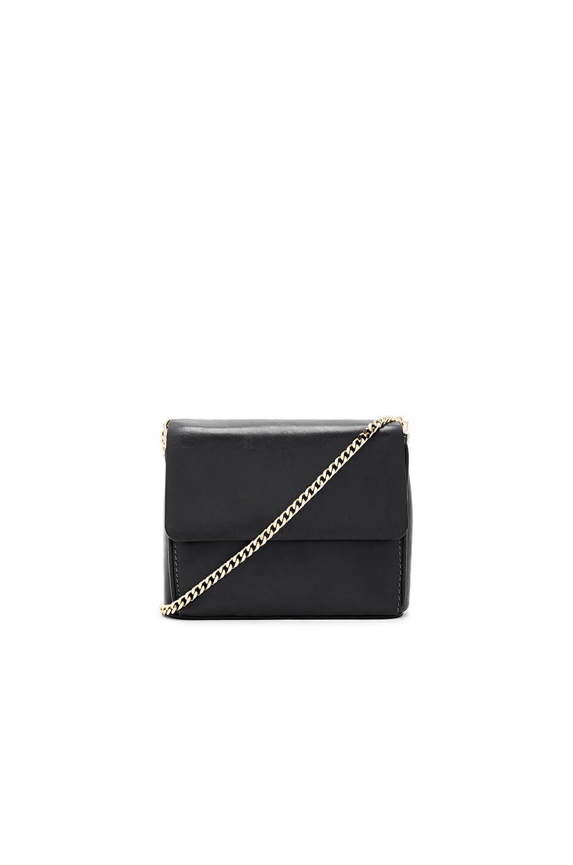 Gvyn Yael 2.0 Shoulder Bag in Black & Gold