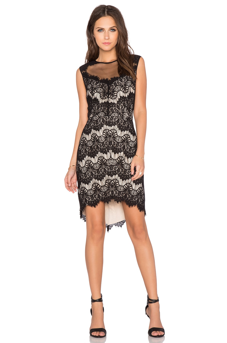 Greylin Claire Lace Dress in Cream