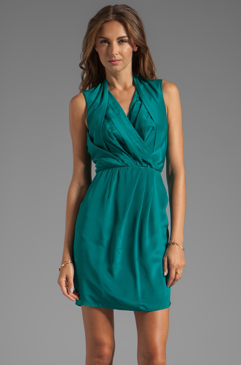 Greylin Camila Dress in Teal