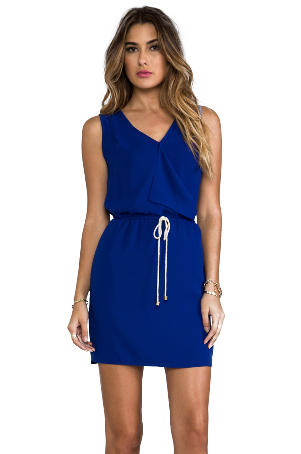 Greylin Carly Dress in Cobalt Blue