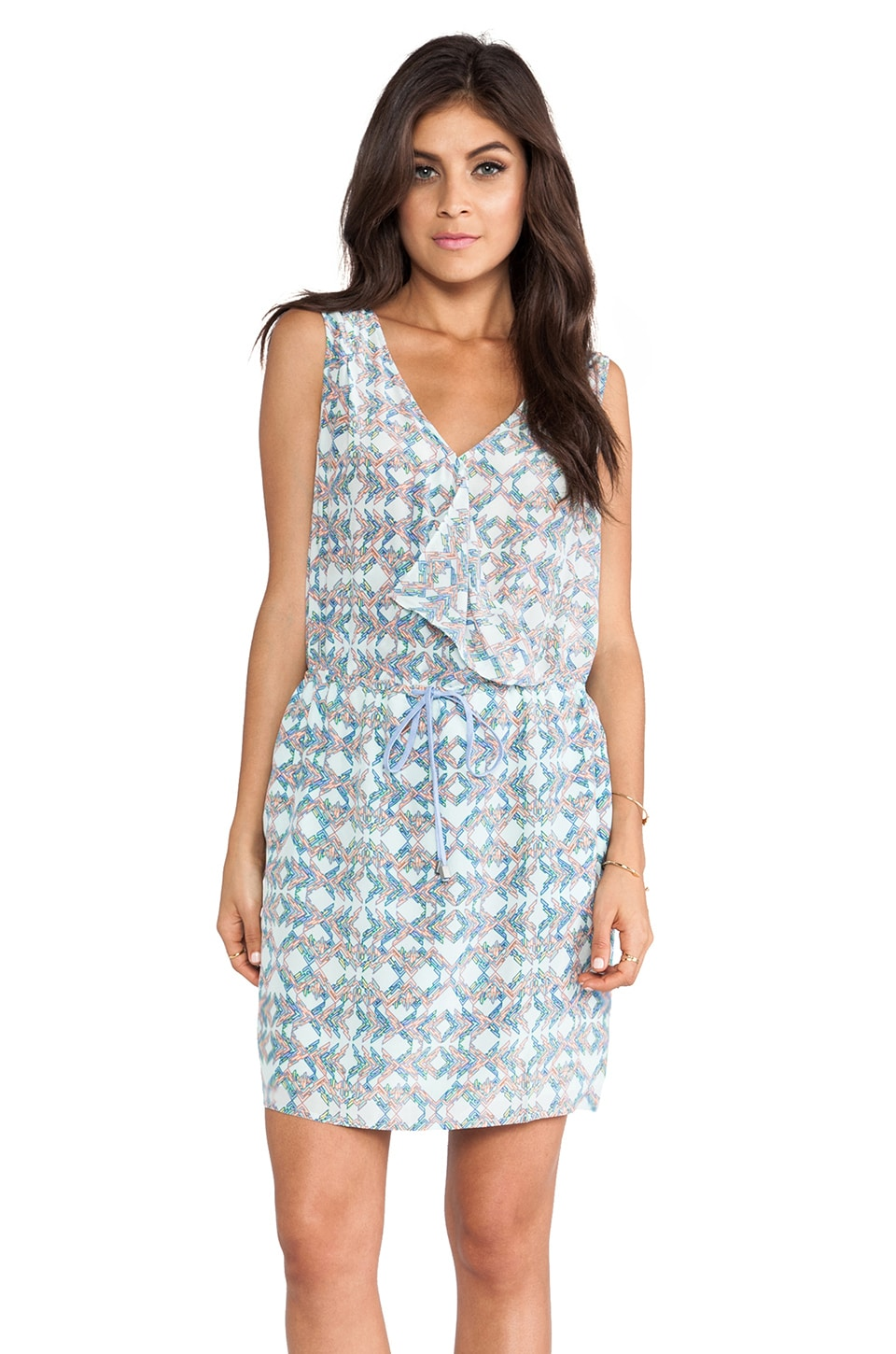 Greylin Milenna Silk Dress in Mint
