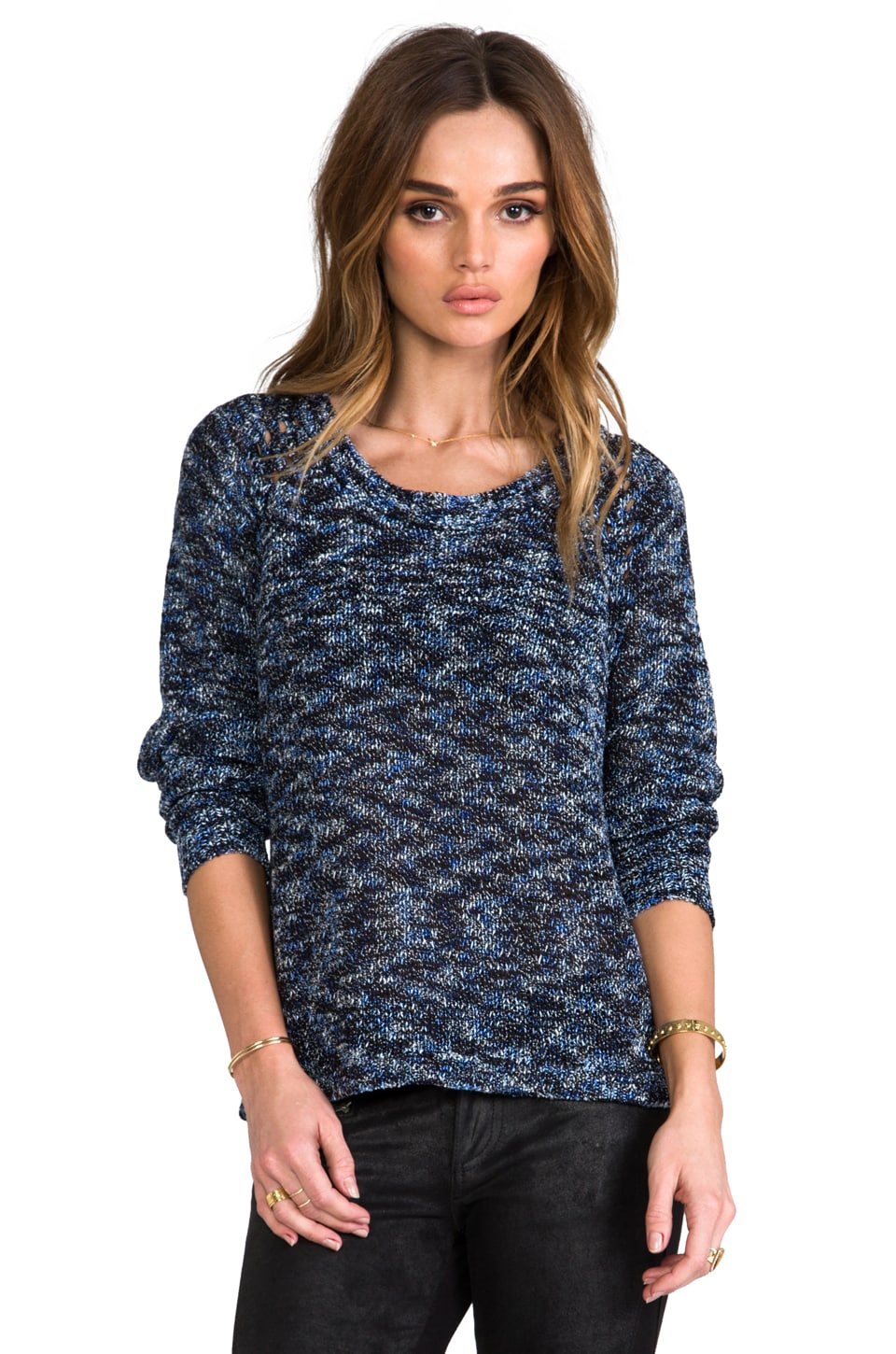 Greylin Deco Sweater in Blue