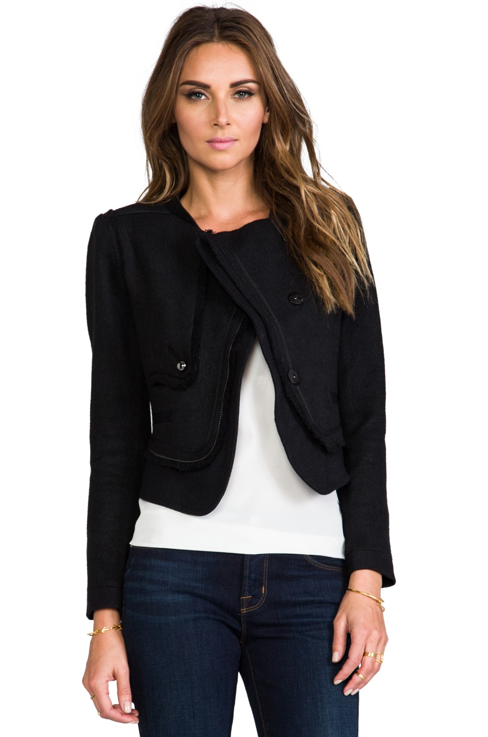 Greylin Samson Jacket in Black