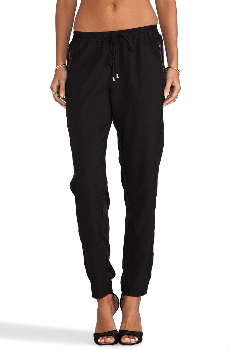 Greylin Rogers Track Pants in Black