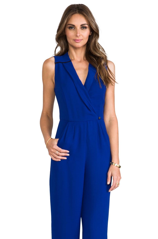 Greylin Jagger Pantsuit in Cobalt Blue