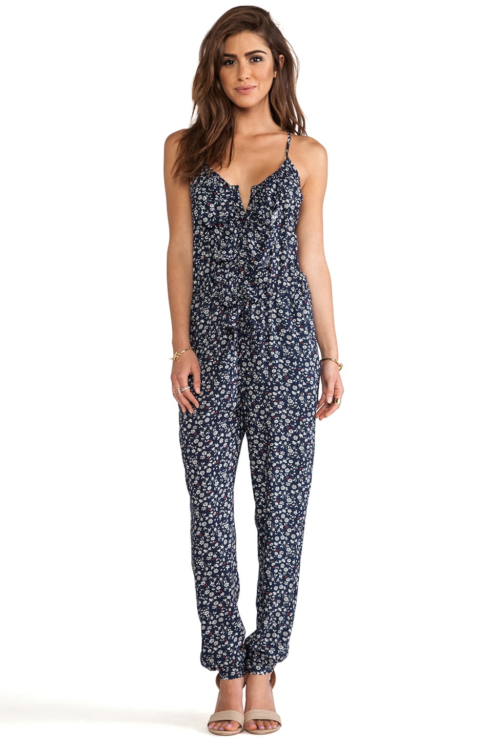 Greylin Felicia Jumpsuit in Blue
