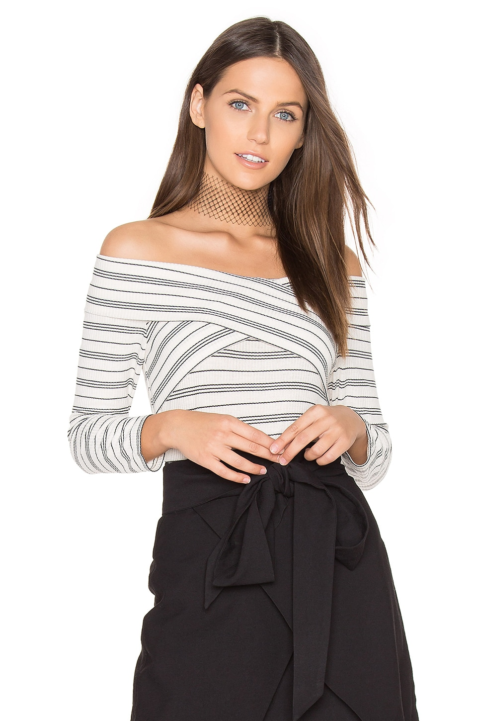Drew Knit Off Shoulder Top by Greylin