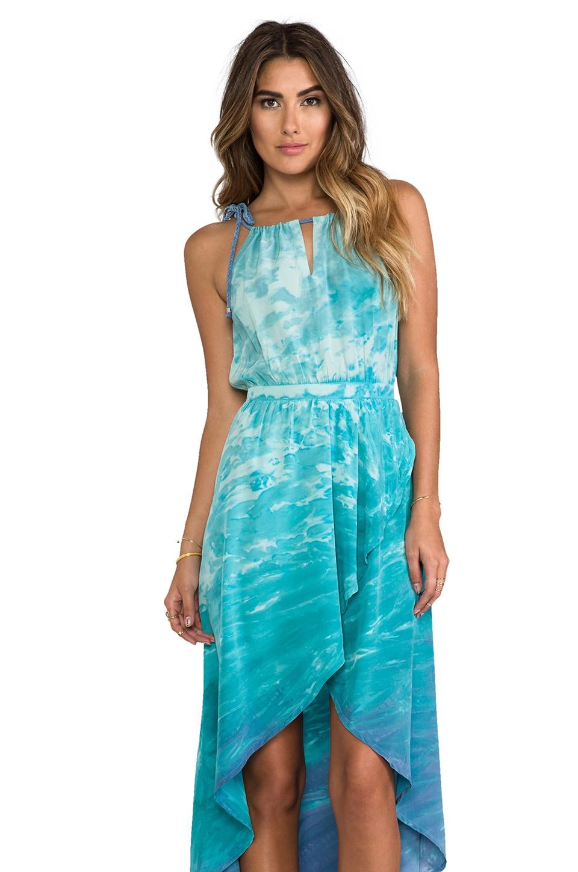 Gypsy 05 Tulip Maxi Dress in Ocean