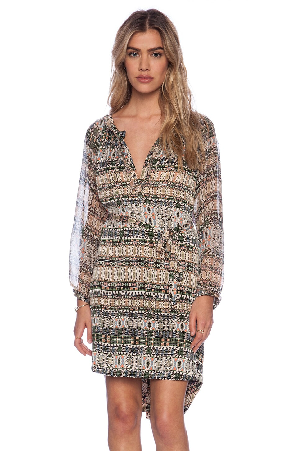 Gypsy 05 Navicella Tunic Dress in Neu