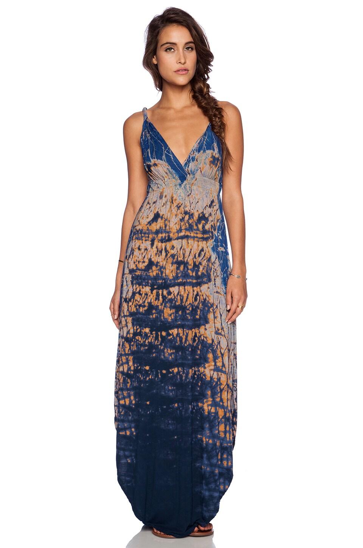Gypsy 05 Bamboo Maxi Dress in Mauve