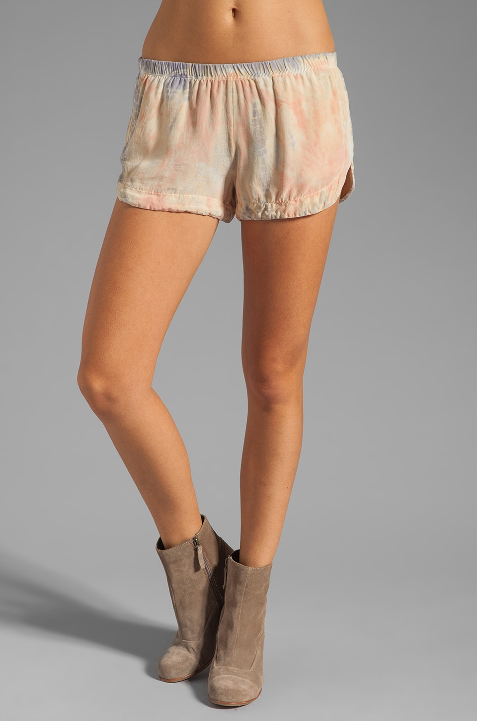 Gypsy 05 Emily Silk Track Short in Blush