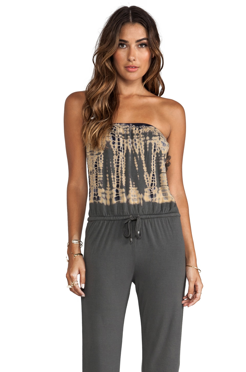 Gypsy 05 Foudnation Bamboo Strapless Jumper in Asphalt