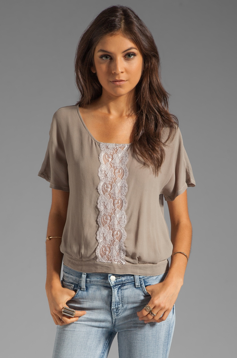 Gypsy 05 Criseida Top in Silver
