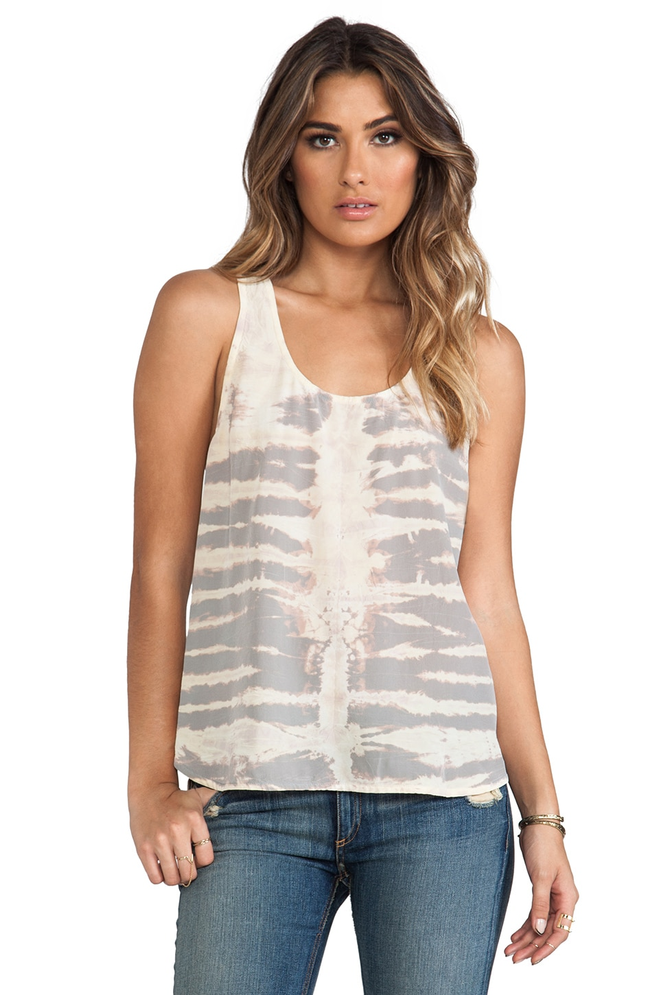 Gypsy 05 Racer Back Tank in Blush