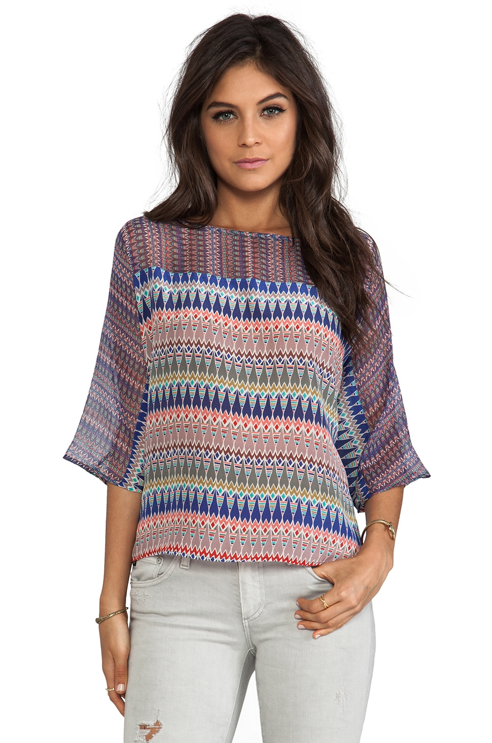Gypsy 05 Oversize Top in Multi