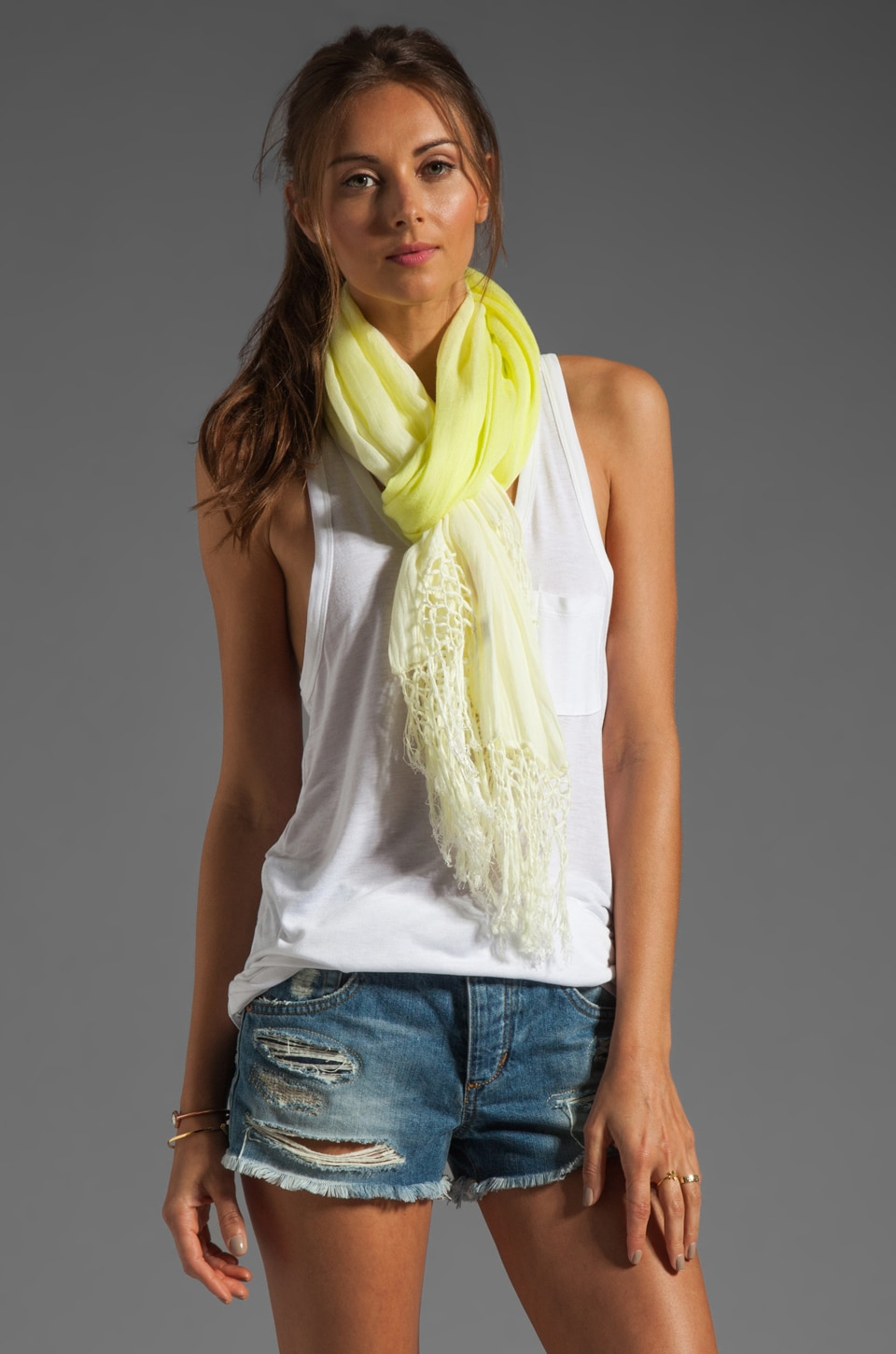 Gypsy 05 Ombre Scarf in Merengue