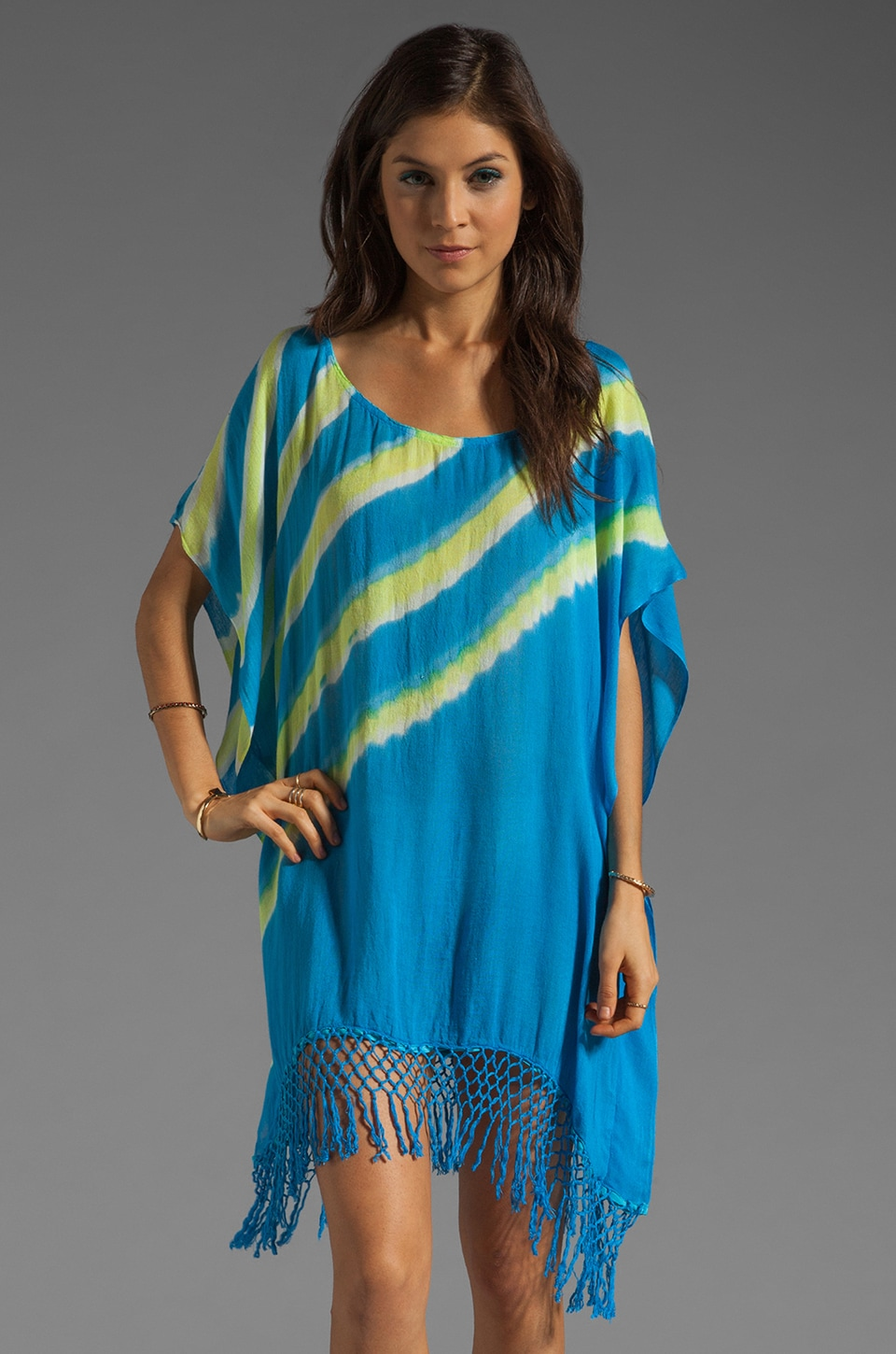 Gypsy 05 Swimsuit Cover Up in Electric Blue