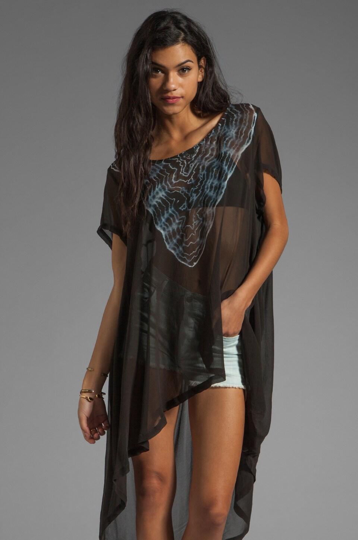 Gypsy 05 Silk Cover Up in Black