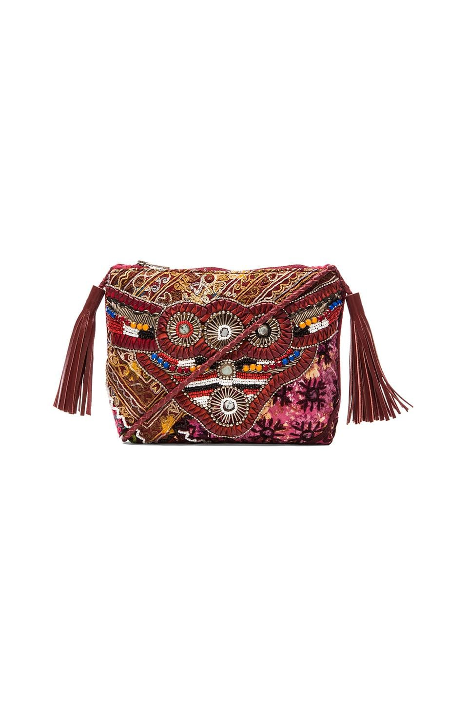 Gypsy 05 Ada Cross Body Bag in Burgundy