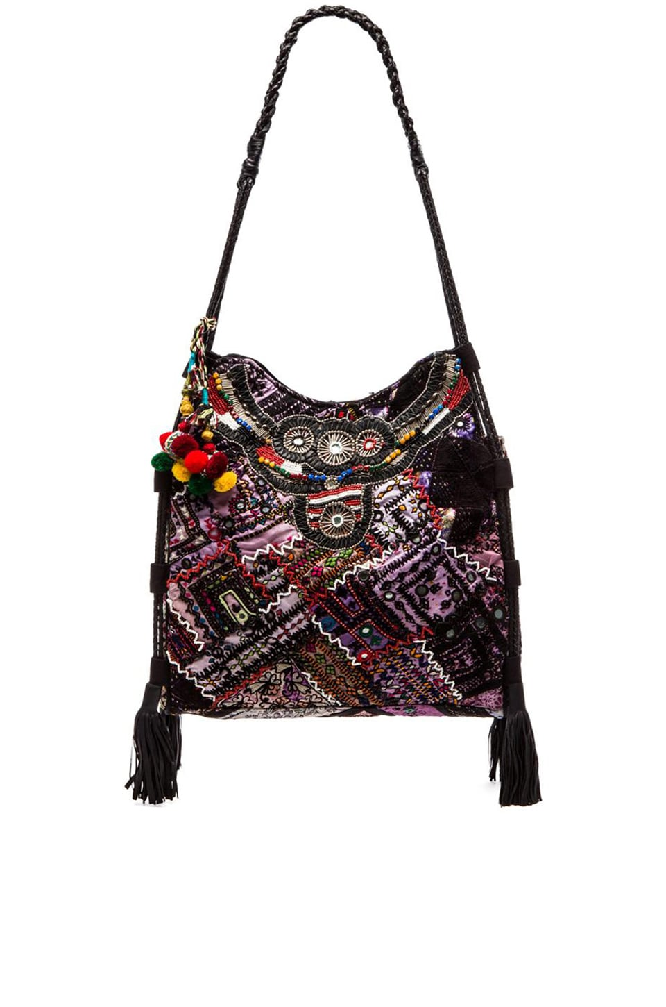 Gypsy 05 Ada Tote Bag in Black