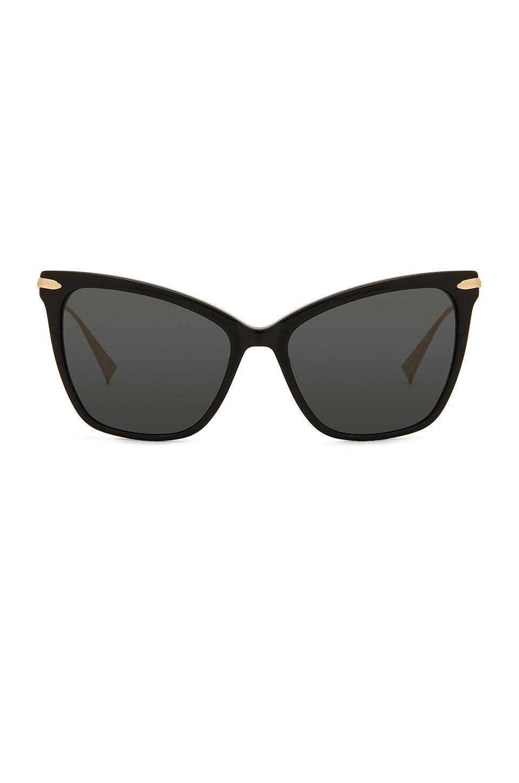 Hadid Eyewear Jet Setter in Black & Gold