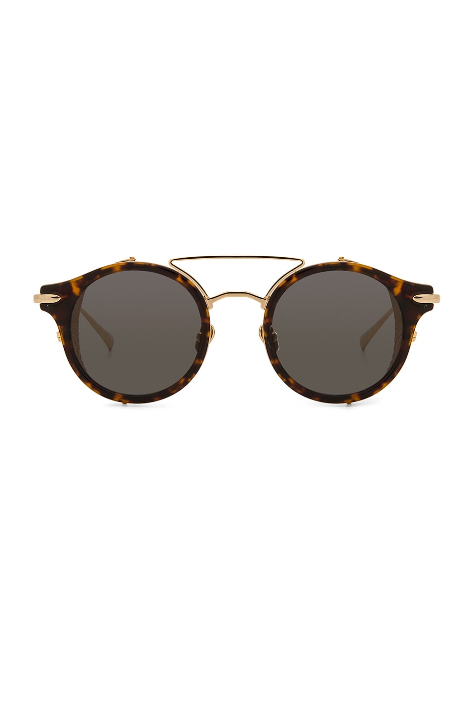 Hadid Eyewear Mile High in Tortoise & Gold