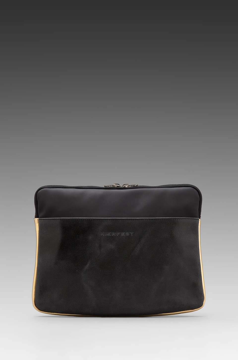 Haerfest Book Sleeve in Black/ Gold