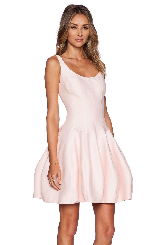 Halston Heritage Pink Dress
