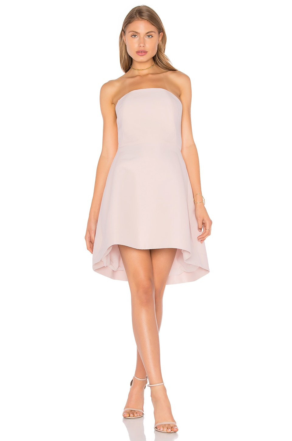 Strapless Structured Dress by Halston Heritage
