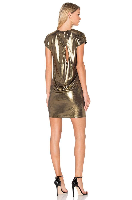 Foil Jersey Dress by Halston Heritage