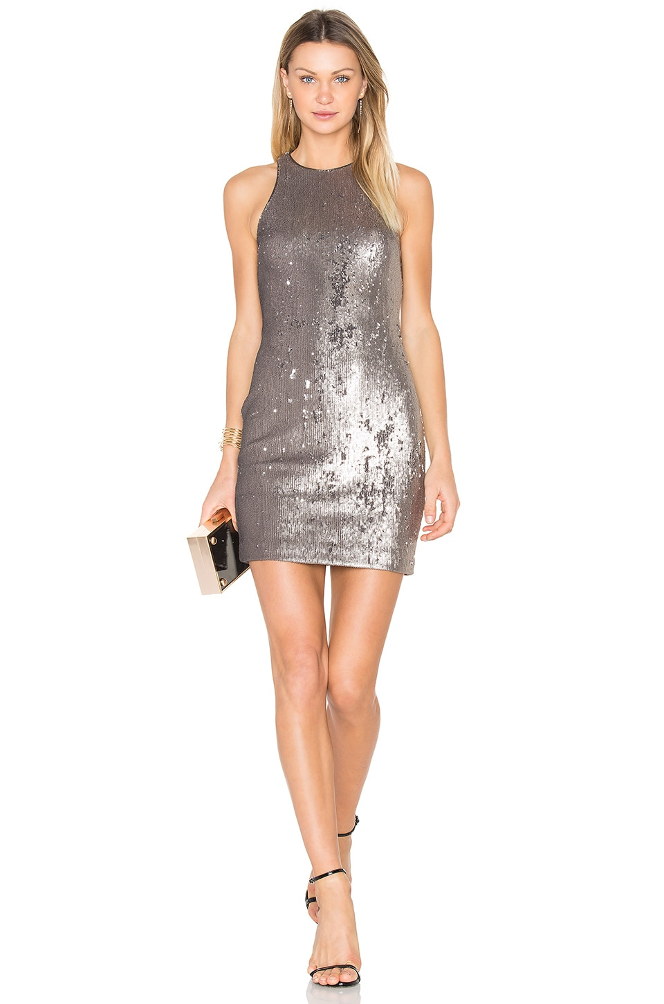 Sequined Dress by Halston Heritage