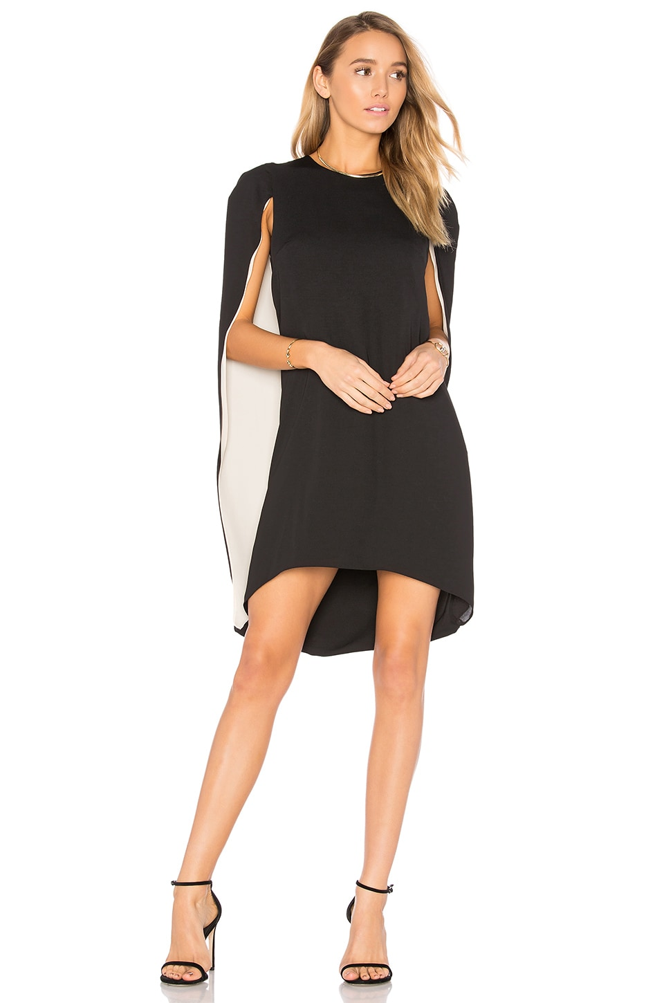 Cape Dress by Halston Heritage