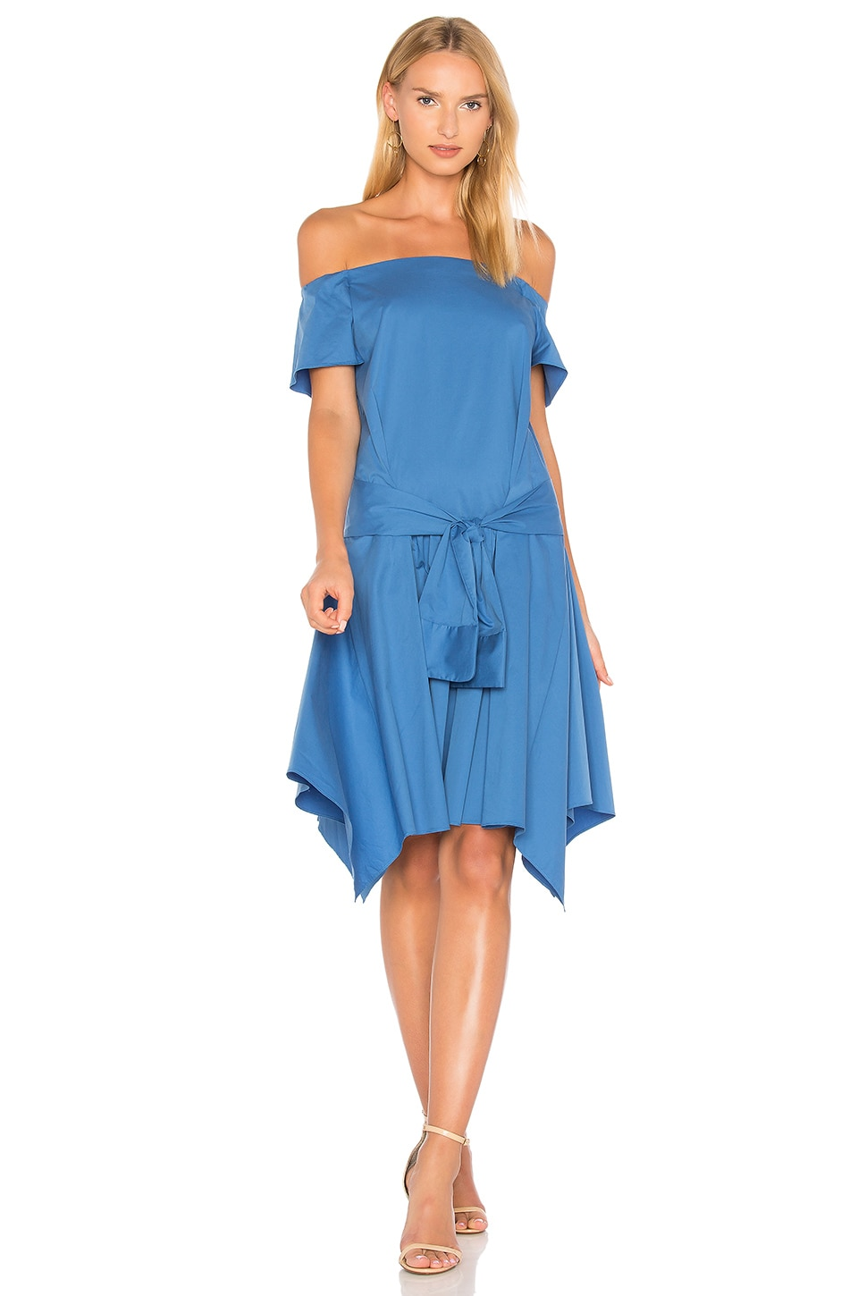 Off Shoulder Dress by Halston Heritage