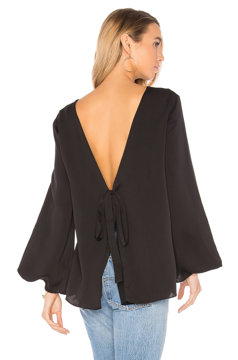 Deep V Back Top by Halston Heritage
