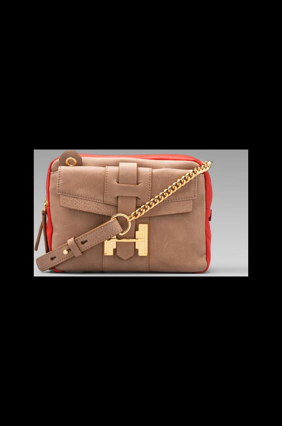 Halston Heritage Small Crossbody Multi in Vermillion