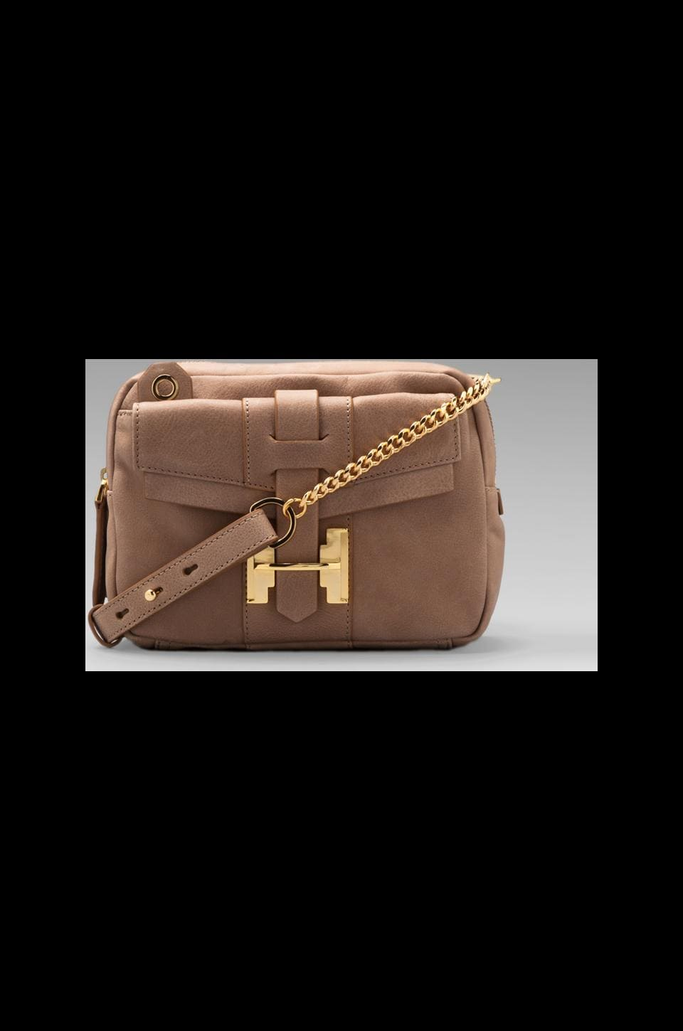Halston Heritage Preppy Small Crossbody in Sand