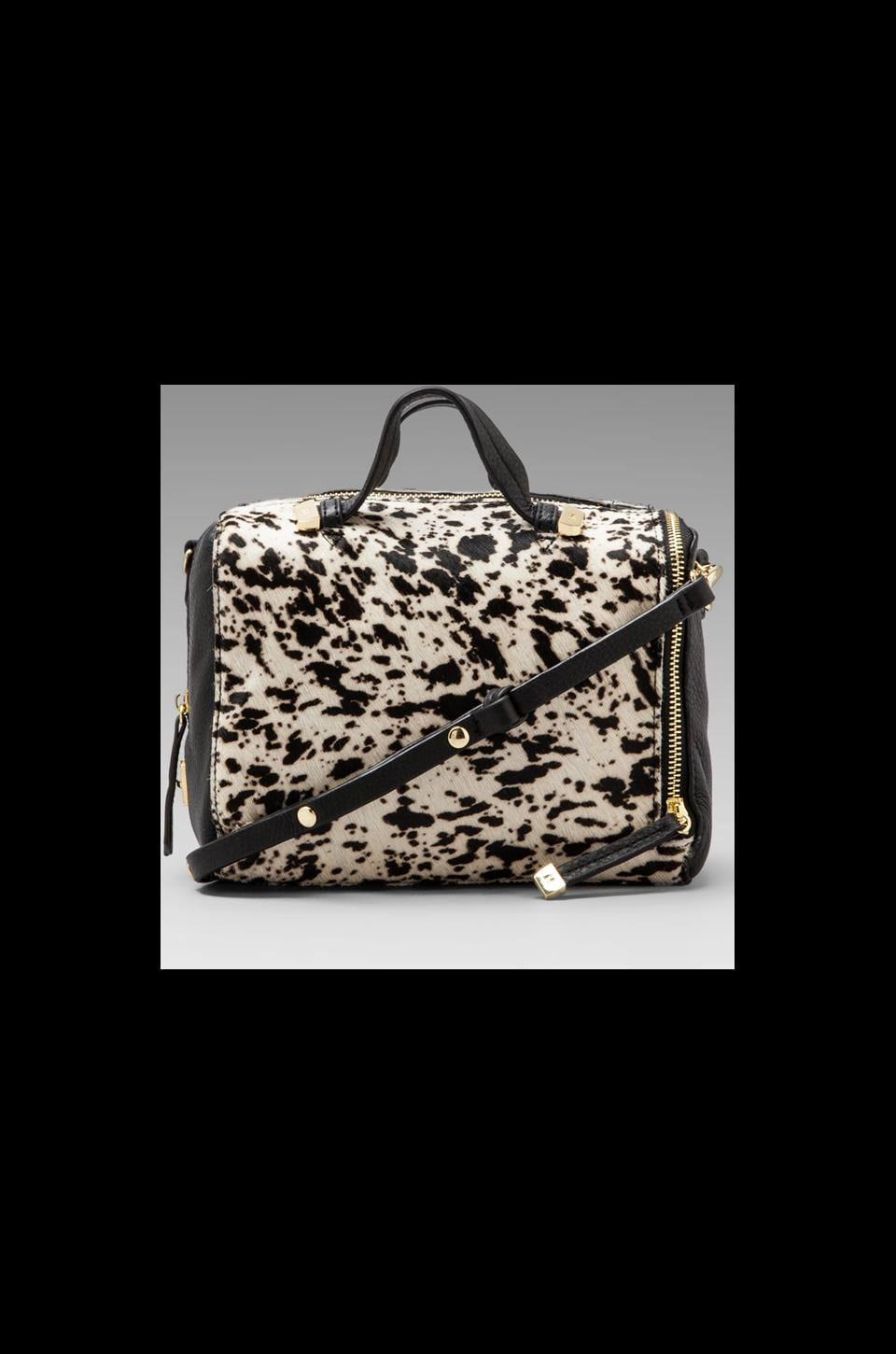Halston Heritage Baby Satchel in Speckled Pony