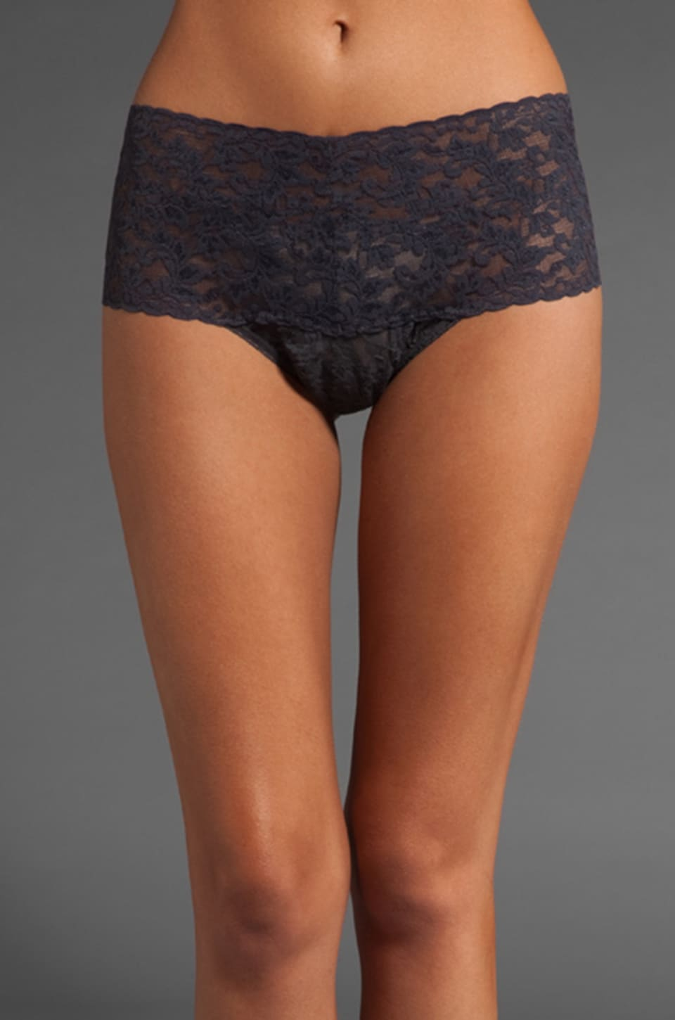 Hanky Panky Retro Thong in Granite