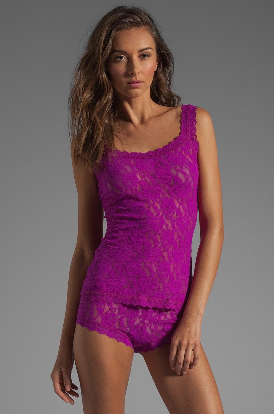 Hanky Panky Classic Unlined Cami in Hot Fuchsia