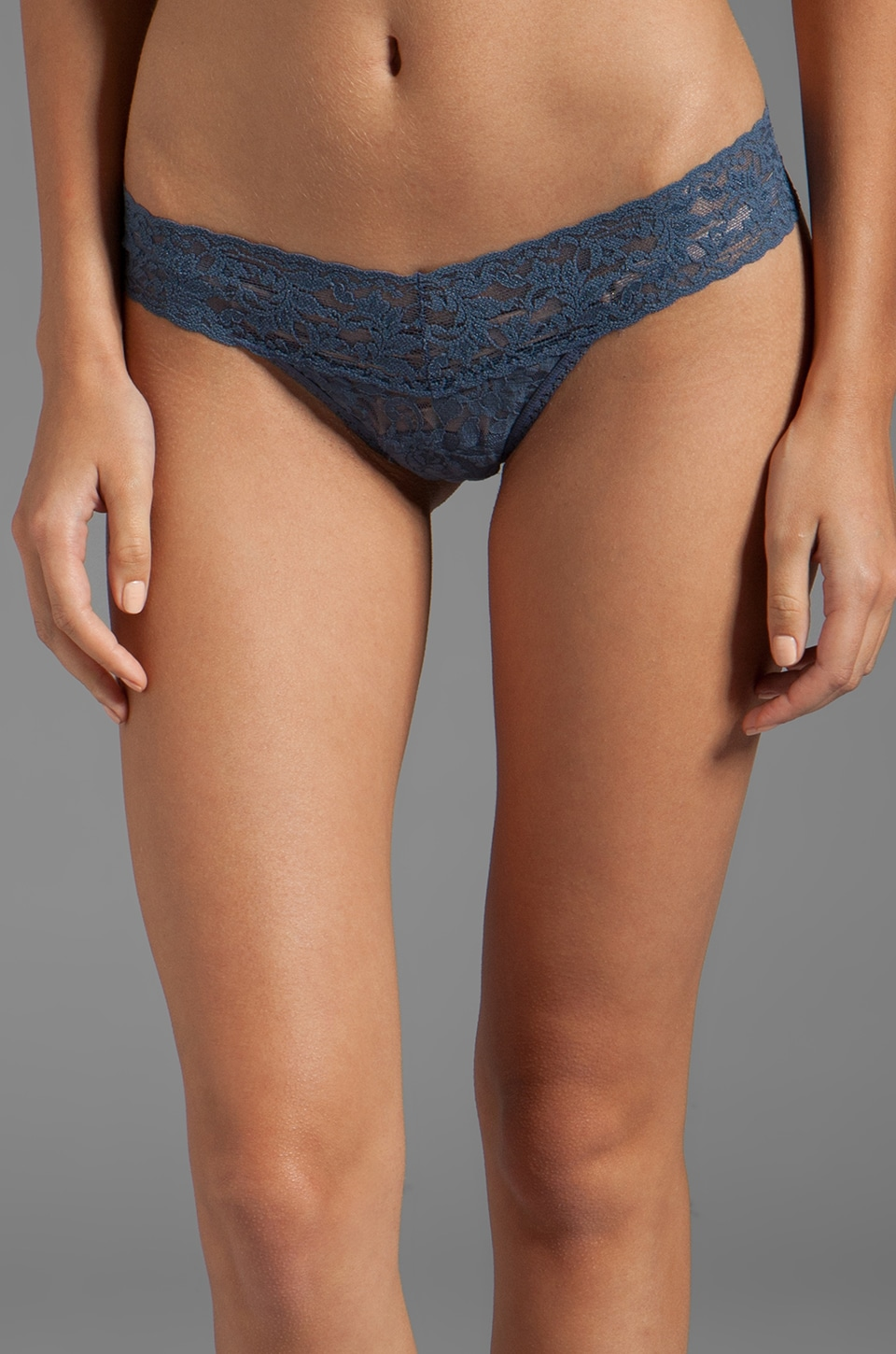 Hanky Panky Petite Low Rise Thong in Nightshadow