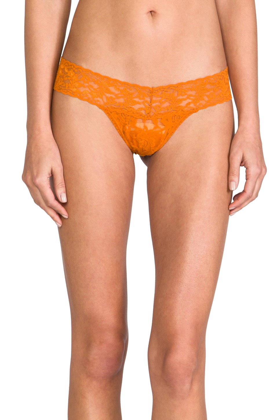 Hanky Panky Low Rise Thong in Marigold