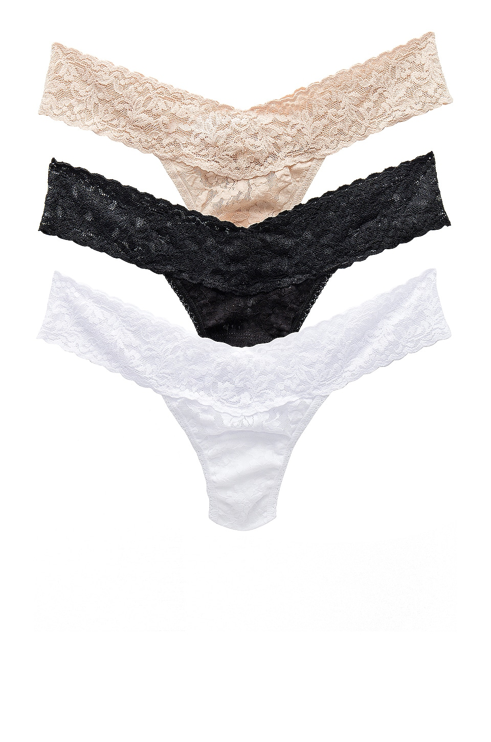 Hanky Panky LOT DE 3 STRINGS TAILLE BASSE