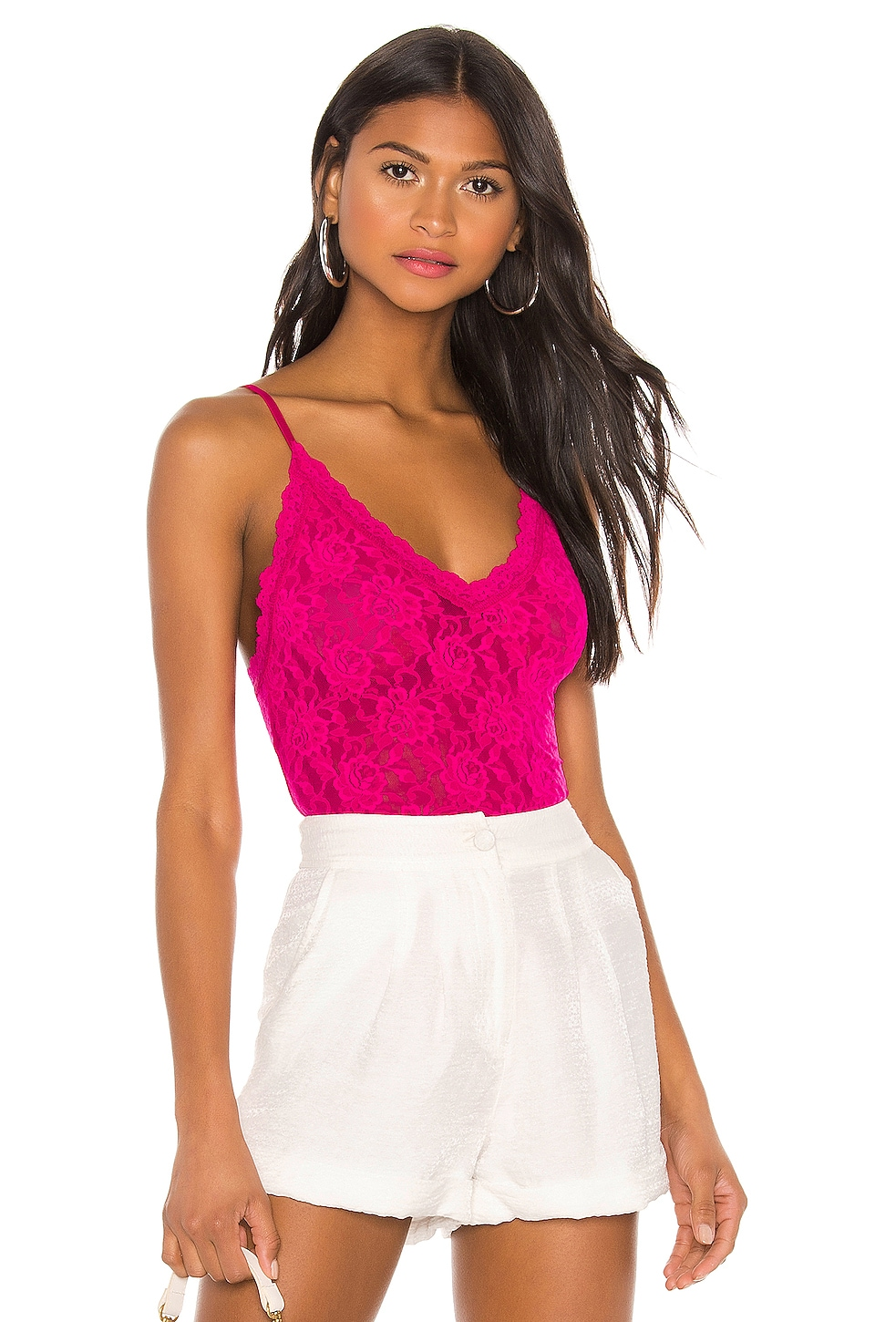 Hanky Panky Signature Lace Thong Back Bodysuit in Allure