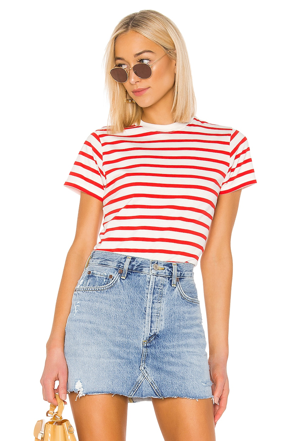 x karla CAMISETA THE STRIPE CREW